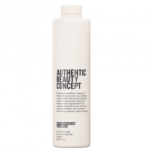 Deep Cleansing Shampoo Authentic Beauty Concept