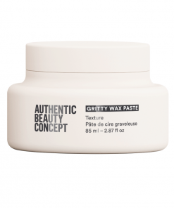 gritty wax paste authentic beauty concept