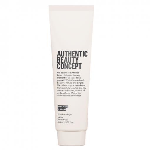 shaping cream authentic beauty concept